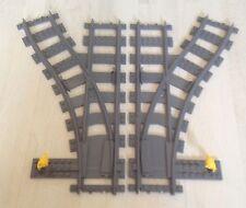 Lego City Eisenbahn Weiche rechts und links aus 7895,7939