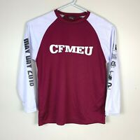CFMEU 'May Day' Long Sleeve Shirt Rare Size Men's Medium