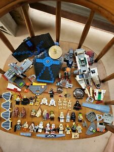 Lot Of 31 Star Wars Lego Minifigures Vintage + SW Lego Ship Pieces. V cool 😎