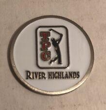 TPC River Highland golf ball marker