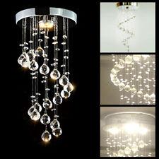 Modern Chrome Crystal LED Ceiling Light Lamps Fitting Pendant Chandelier 5336HC
