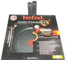 Tefal Pfannen-Set Hard Titanium Plus 24 cm + 28 cm Induktion