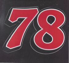 MARTIN TRUEX JR #78 RACING DECAL STICKERl