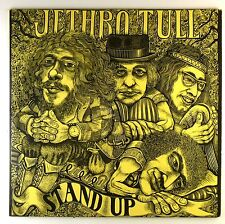 "12"" LP - Jethro Tull - Stand Up - D525 - Gimmix pink Island Label - cleaned"