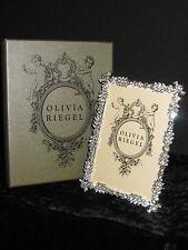 "Olivia Riegel Duchess Crystal 4"" x 6"" Photo Frame  NEW! In Box!"