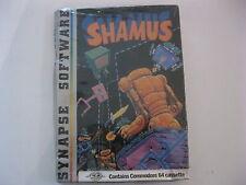 Shamus Commodore 64 Game cassette Synapse Software