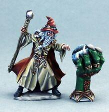 Wizard & Crystal Ball Reaper Miniatures Dark Heaven Legends Mage Caster Magic