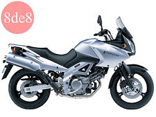 Suzuki DL 650 V-Strom (2004) - Manual de taller en CD (En inglés)