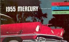 1955 Mercury Montclair Monterey & Custom Brochure 13158-3QSIZQ