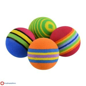 RA Rainbow Foam Ball - 4 pk