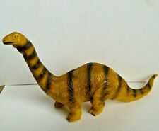 1991 Apatosaurus Solid Rubber Pvc Plastic Dinosaur Figure Toy Model 11� Long