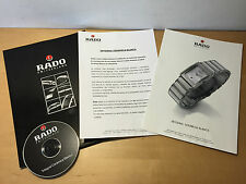 Press Release RADO - Integral Cerámica Blanco + CD - Español - For Collectors