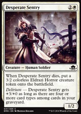 MTG 4x DESPERATE SENTRY - SENTINELLA DISPERATA - EMN - MAGIC
