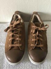 Ugg Australia Shoes Tan Suede Leather Sz 4