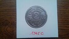 2 francs alu morlon 1945c supp++