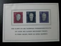 DDR EAST GERMANY Mi. #Block 15 mint stamp sheet! CV $48.00
