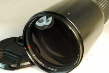 Manual Focus Fixed/Prime Camera Telephoto Lenses 400mm Focal