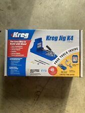 Kreg K4 PocketHole System w/FaceClamp, R3 Drill Guide & PocketHole Screws 50pck