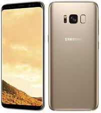 "Samsung Galaxy S8+ SM-G955F (FACTORY UNLOCKED) 6.2"" 64GB - Gold"