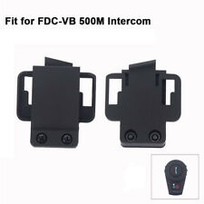 2x Mount Bracket Clip Holder Fit FDC-VB Motorcycle BT Bluetooth Intercom Headset