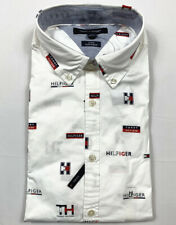 Mens Tommy Hilfiger L/s Button-up Shirt Slim Fit Medium