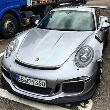 Porsche 991 GT3RS Style Hood fits: 2012-2018 Carrera, 4S, Turbo, GT3 Update