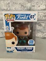 FUNKO POP!: ASTRONAUT FREDDY FUNKO W/ RAY GUN FUNKO SHOP EXC #07 *RARE Uk