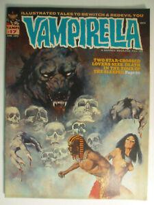 Vampirella #17, Horus - Tomb of the Sleeper, Fine, 6.0, 1972