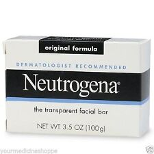 Neutrogena Transparent Facial Bar Soap, Original, 3.5oz 070501010105T193