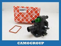 Valve Thermostatic Coolant Thermostat Ford Fiesta PEUGEOT 206 307 Aygo