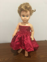 "19"" Chatty Cathy Doll Clothes Only High Low Princess Party Prom Dress"