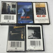 Lot of 5 Billy Joel Cassettes 52nd Street/Bridge/Stranger / Songs In The Attic
