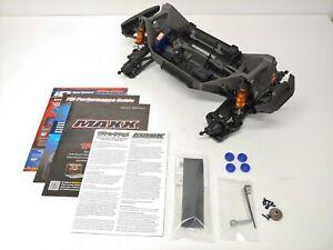NEW: Traxxas MAXX 4s 1/10 Monster Truck Roller Slider Chassis Orange Version