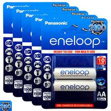 10x Panasonic Eneloop AA batteries 1900mAh Rechargeable Ni-MH Accu LR06 BK-3MCCE
