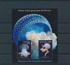 LO04276 Monaco jellyfish sealife good sheet MNH