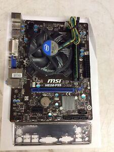 MSI H81M-P33 LGA 1150 / Intel Pentium G3220 @3.00GHZ / 4GB (1x4GB) DDR3