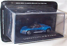 Venturi Fetish Concept Car range new in case 1-43 scale