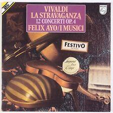 VIVALDI: La Stravaganza FELIX AYO Philips 2x LP Violin VERY RARE NM LP