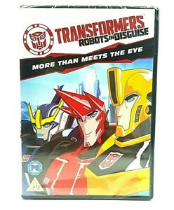 Transformers DVD Robots In Disguise More Than Meets The Eye x 2 Episodes
