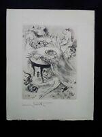 Rare Orgie Louis Icart gravure signé curiosa scène débauche galante parfait état
