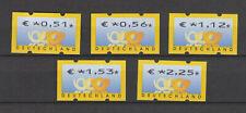 BUND ATM 4 - VERSANDSTELLENSATZ II ** - MICHEL 60,-€