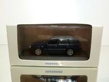 MINICHAMPS VW VOLKSWAGEN GOLF VARIANT - BLUE 1:43 - EXCELLENT IN DEALER BOX