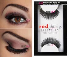 1 Pair AUTHENTIC RED CHERRY #119 Hunter Human Hair Lashes False Eyelashes Lash