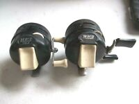 Lot Of 2 Good used Fishing Reels Zebco 202