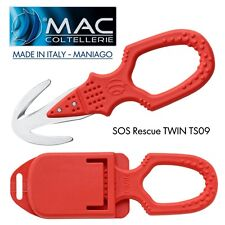 Knife SOS Coltello MAC Coltellerie MADE IN ITALY Maniago RESCUE TS09 SALVATAGGIO