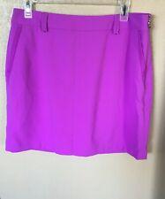 Ralph Lauren Polo Golf Poly Blend Skort Sz 14 Purple Womens NWT