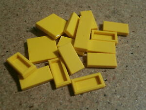 Lego Friends 15 x yellow tile mix  NEW