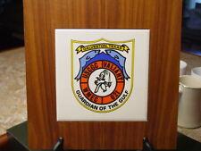 USCGC Valiant WMEC 621 Ship's Plaque United States Coast Guard Cutter