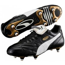 4edc9d516 PUMA King Pro SG Adults Football BOOTS Black White Gold 40 5