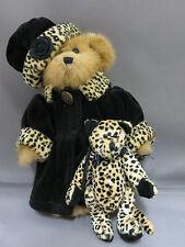 "Boyds Teddy Bear w Cheetah Plush Stuffed Animal 8"" Archive Series 1364 Rare"